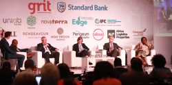 aaaaaDR Akpoji participaing at a pan african housing panel in Johannesburg recently.JPG